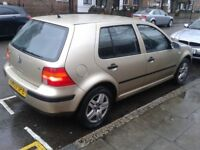 VW GOLF 1.6 PETROL 03 MANUAL 1 YR MOT FULL SERVICE HISTORY DRIVES LIKE NEW EXCELLENT CONDITION £549
