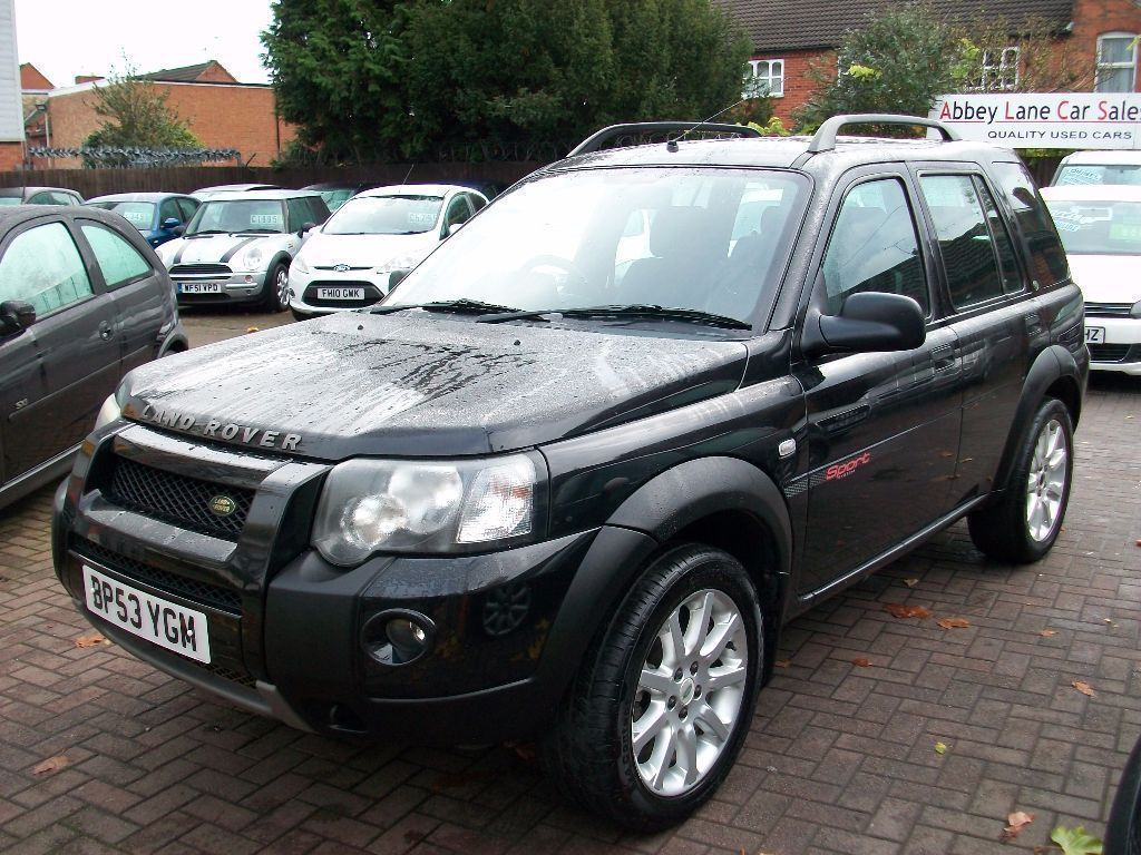 land rover freelander 2 0 td4 sport 5dr 2004 53 reg suv. Black Bedroom Furniture Sets. Home Design Ideas