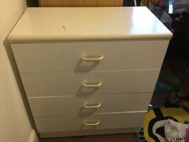 Chest drawers with wheels