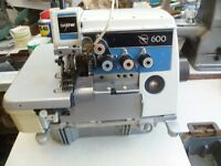Brother industrial 3/5 Thread overlocking sewing machine Model 600
