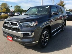 2016 Toyota 4Runner Limited - Toyota Certified, Save $$ Over New