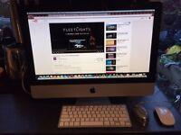 "Apple iMac 21.5"" late 2009. 3.06 GHz intel core 2 duo 500gb hdd £240"