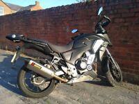 Honda CB500X 2014 - Extras incl. Akra exhaust, heated grips...