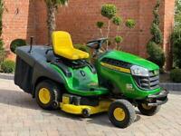 """John Deere X155R Ride on mower - 42"""" deck - lawnmower - Honda / Kubota / Stiga / Toro"""