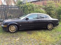 2000 X TYPE JAGUAR BLACK AND GOLD SERVICE HISTORY AND MOT