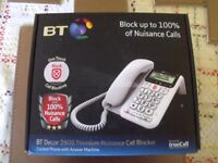 BT Decor 2600 Coded Phone with Answer Machine