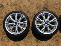 "Ford Fiesta 17"" ST Line Alloy Wheels (205/40/R17)"