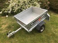 Erde 102 car trailer ideal for camping