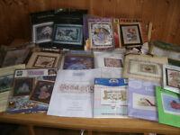 Assorted Cross Stitch Kits