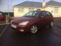 2003 Ford Focus 1.6 i 16v Zetec 5dr ++++ must be seen ++++