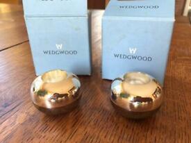 Wedgewood candle sticks