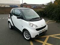 2009 SMART FORTWO 0.8 CDI PURE AUTO DIESEL WHITE 12 MONTHS MOT HPI CLEAR FREE ROAD TAX
