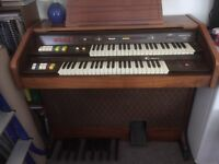 2 manual Bentley Carousel 750 electric organ