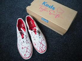 Brand New In Box Taylor Swift Keds Trainers size 6