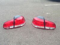 Vw golf 6 rear lights taillights