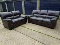 Real Leather Suite 3+2 + Delivery