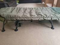 Chub fishing bed and sleeping bag