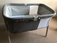 Chicco portabl coy with mattress - free