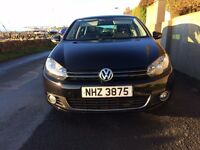2010 Stunning Metallic black 6 speed manual diesel Golf