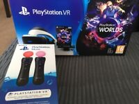 PS4 VR and Playstion Move controllers
