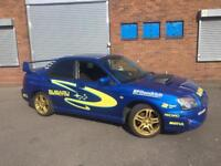 2005 Subaru Impreza 2.0 WRX Turbo full replica with full rally/WRC decals, BARGAIN