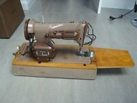 Singer sewing machine from late 1950's early 1960's