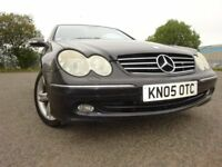 05 MERCEDES CLK 270 CDI DIESEL AVANDE COUPE AUTOMATIC,MOT APRIL 019,FULL HISTORY,STUNNING EXAMPLE