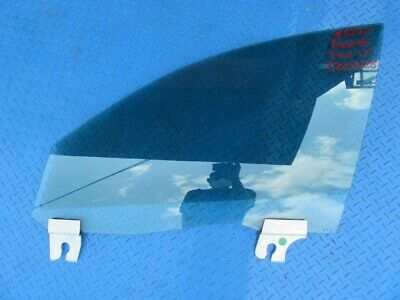 Maserati Ghibli Quattroporte front left door window glass #8222