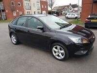 Ford Focus 1.8 Zetec, Manual Black, 65321 Millage, Petrol, 5 Door Hatchback 2008, SALE £2495 London