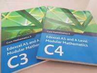 C3 and C4 maths books