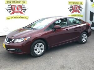 2015 Honda Civic Sedan LX, Automatic, Bluetooth, Heated Seats, 5