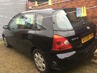 honda civic SE 1.6 automatic 5 door. LPG fuel conversion BRC. 49.7 p per litre. auto. cheap to run