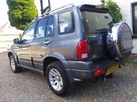 2004 SUZUKI GRAND VITARA X-EC ONLY 81,000 MILES LWB 2.5 V6 4x4 4WD ESTATE