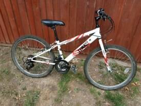 Apollo tokko boys mountain bike 24inch wheels