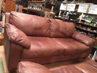 Suite leather 3&2 seaters