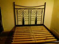 IKEA Sultan Lade double bed frame