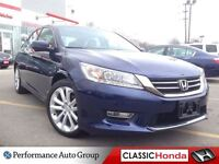 2013 Honda Accord TOURING V6 NAVIGATION CLEAN CARPROOF LEATHER S