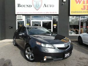 2012 Acura TL SH-AWD|TEK-PKG|NAV|B-UP CAM|LEATHER|S-ROOF|B-TOOTH