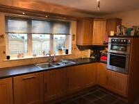 Kitchen units (Hob, Oven, Integrated fridge optional as extras)