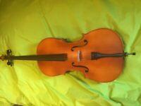 Rare 1/2 Sandner 203 cello