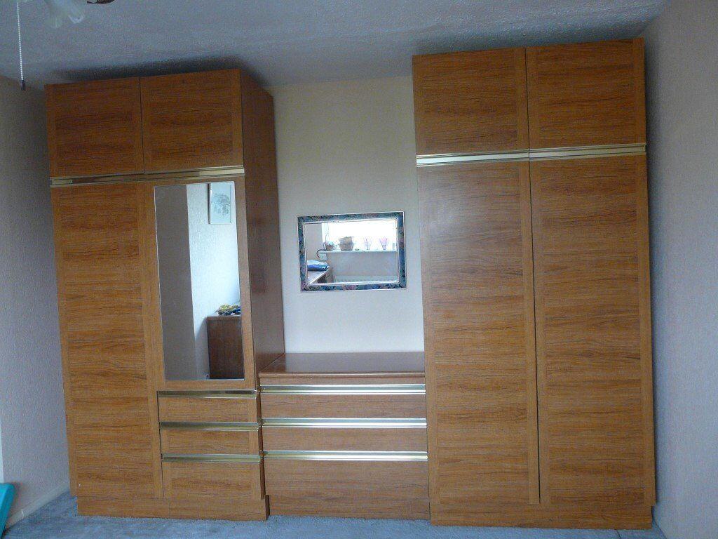 Schreiber Bedroom Furniture Vintage Retro 1970s Schreiber Bedroom Furniture Teak Effect See