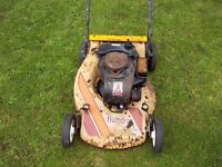 old lawnmower