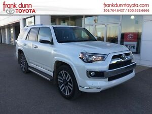 2015 Toyota 4Runner 4WD Limited ***$1000.00 Winter Tire Credit**