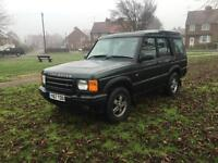 2001 Land Rover discovery td5 7 seater adventurer a