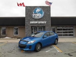 2013 Mazda MAZDA3 GS-SKY! LOOK 6 SPEED! FINANCING AVAILABLE!