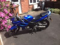 honda cbr 125 low mileage