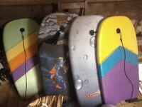 3 basic surf/bodyboards