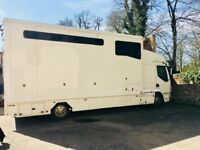 Extra tall 7.5tn DAF LF Horse Lorry (ideal for Large/Heavy Horses) Recent full Service & MOT