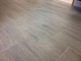 Wood Effect Floor Tiles 22.5 x 90 (1.215 sqm per box) at £18.23 per box