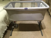 For Sale: Chicco Next2Me side sleeping crib